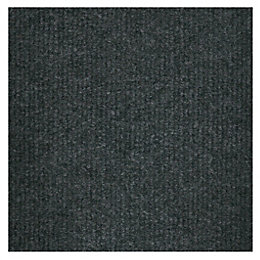 B&Q Green Loop Pile Carpet Tile, Pack of