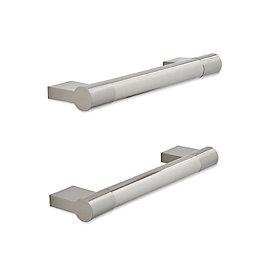 IT Kitchens Brushed Nickel Effect Bar Cabinet Handle,