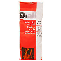 Diall Instant light charcoal 6kg