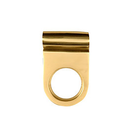 B&Q Brass Effect Cylinder Latch Pull (L)70mm, Pack