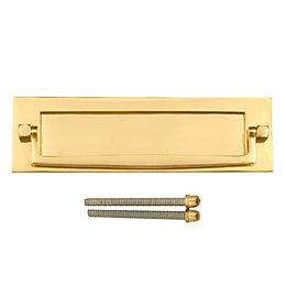 Victorian Brass Effect Postal Door Knocker