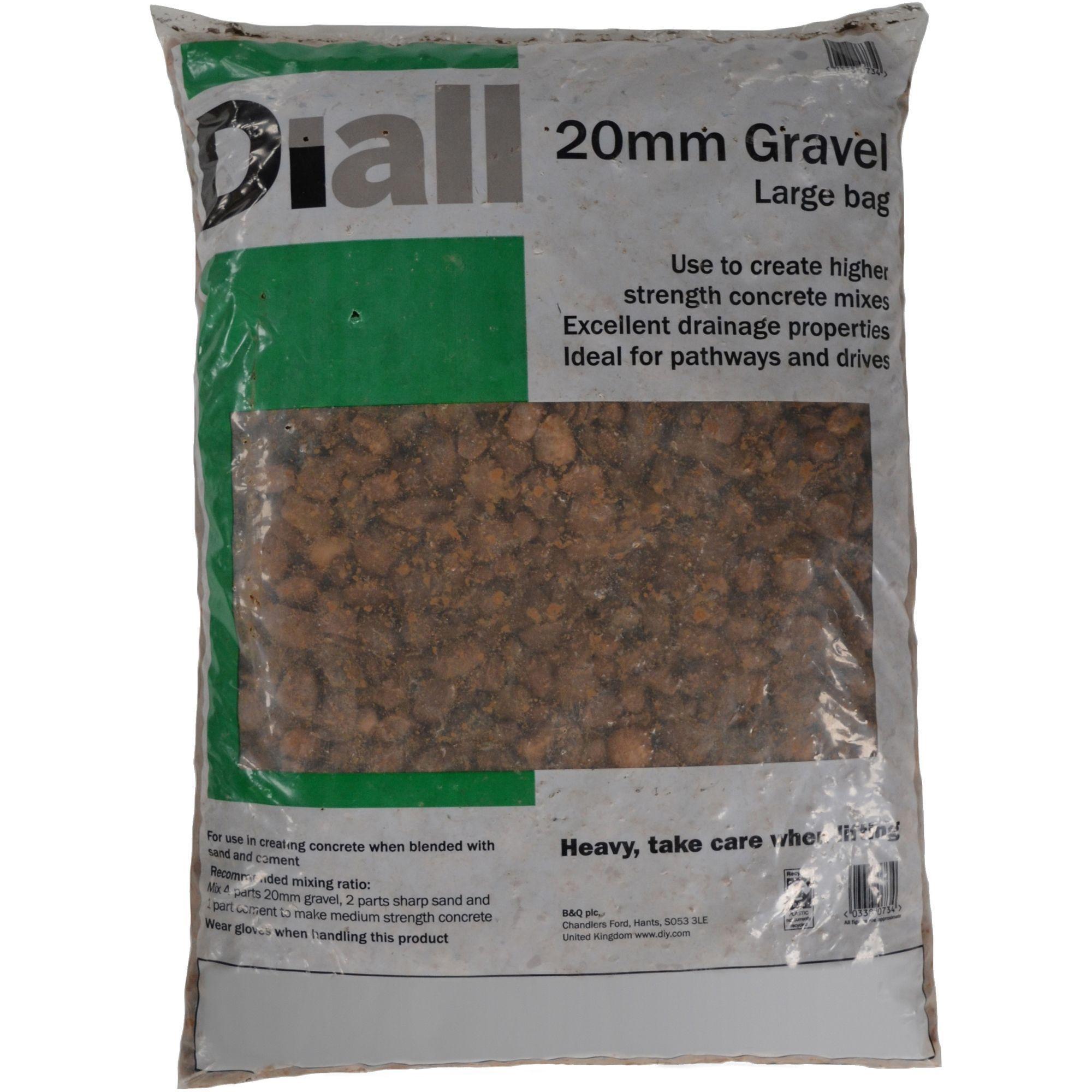 Cool Diall 20Mm Gravel Large Bag Departments Diy At Bq Short Links Chair Design For Home Short Linksinfo