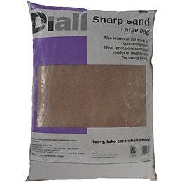 Diall Sharp sand Large bag