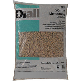 Diall 10 mm Limestone Large bag