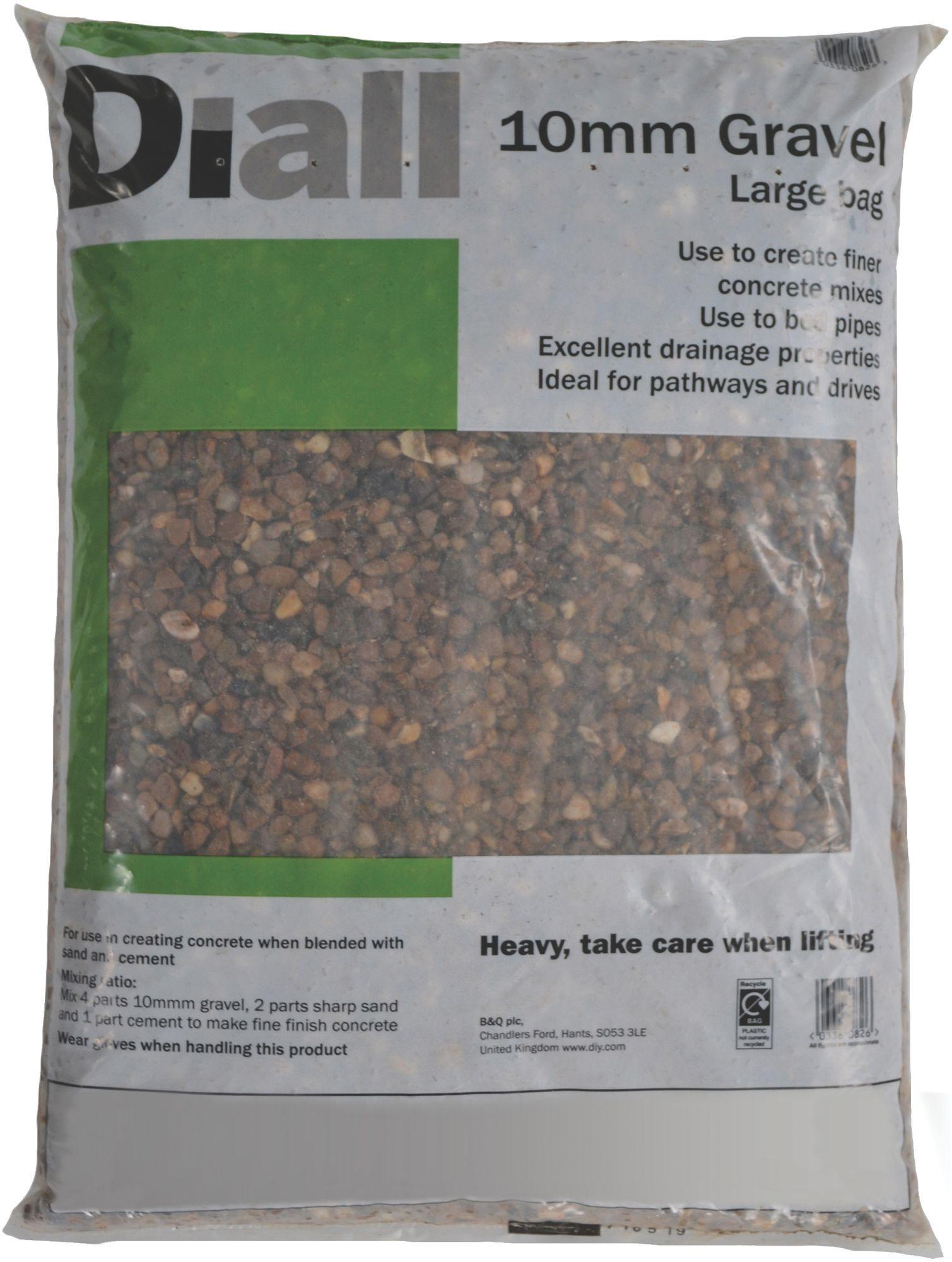 Phenomenal Diall 10Mm Gravel Large Bag Departments Diy At Bq Short Links Chair Design For Home Short Linksinfo