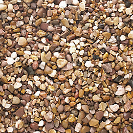 B&Q Brown Naturally rounded Decorative stone