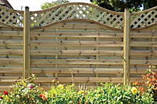 How to put up a panel fence