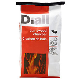 Diall Lumpwood charcoal 7kg