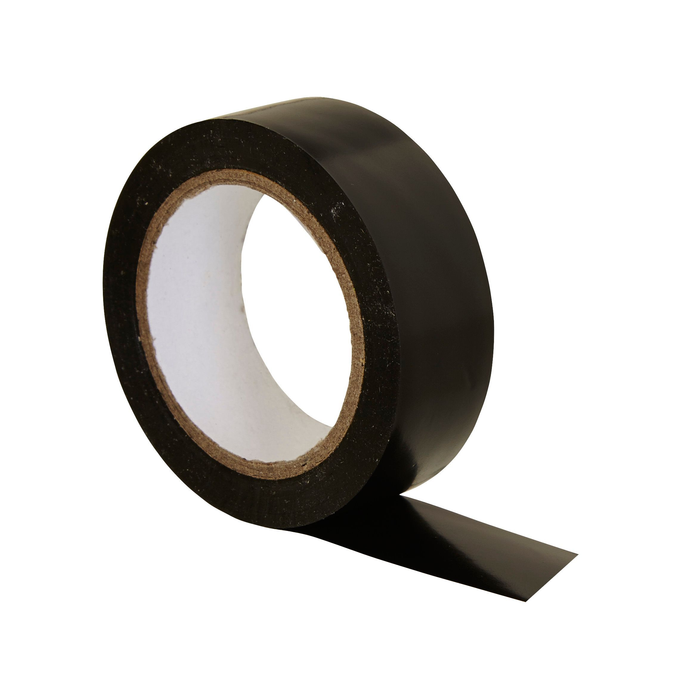 b q black insulation tape l 10m w 19mm departments. Black Bedroom Furniture Sets. Home Design Ideas