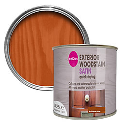 Colours Antique pine Satin Woodstain 0.25L