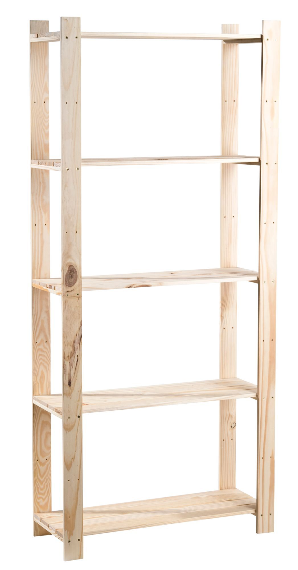 Natural Unfinished Shelving Unit L 1690mm D 295mm