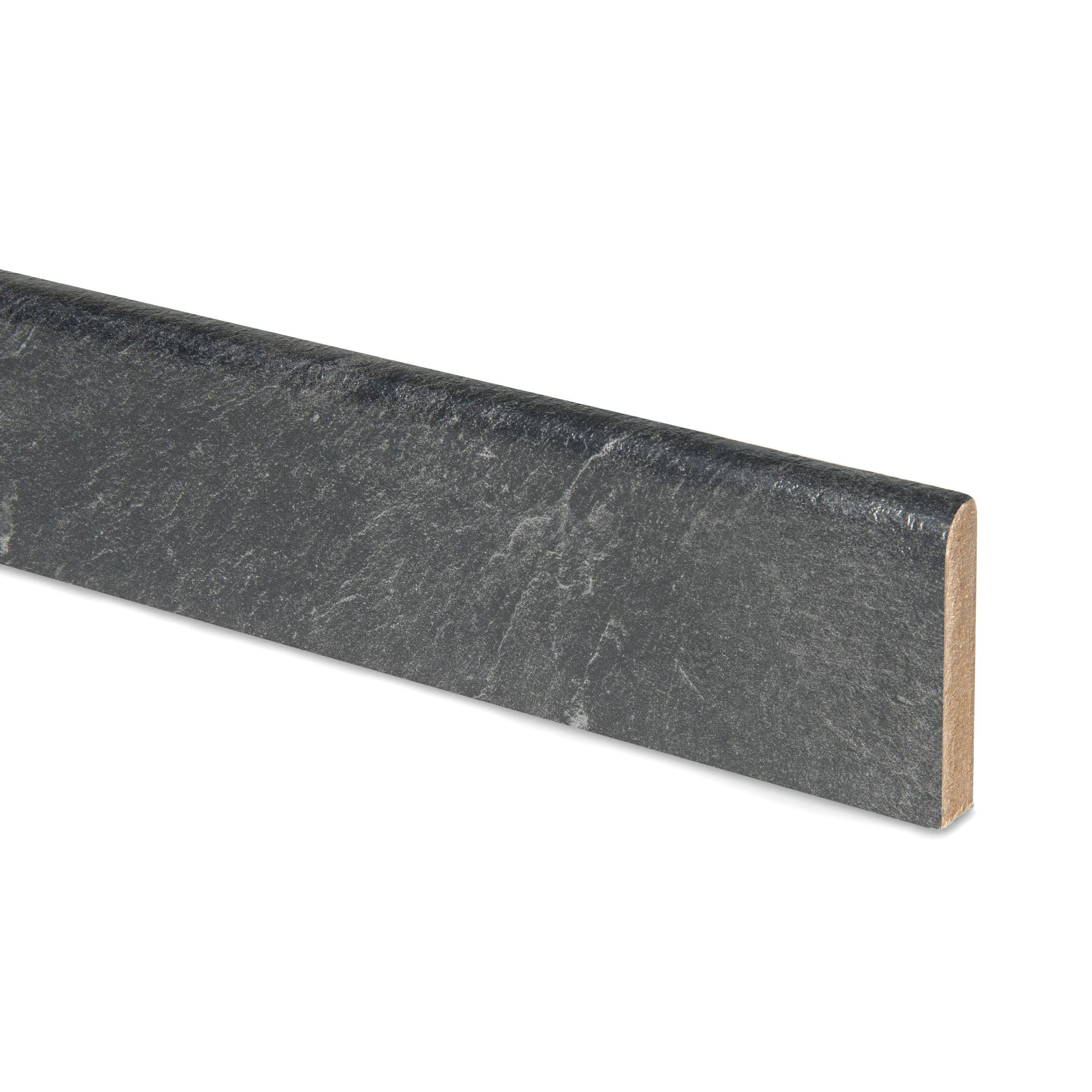 12mm Basalt Slate Grey Laminate Upstand | Departments | DIY at B&Q