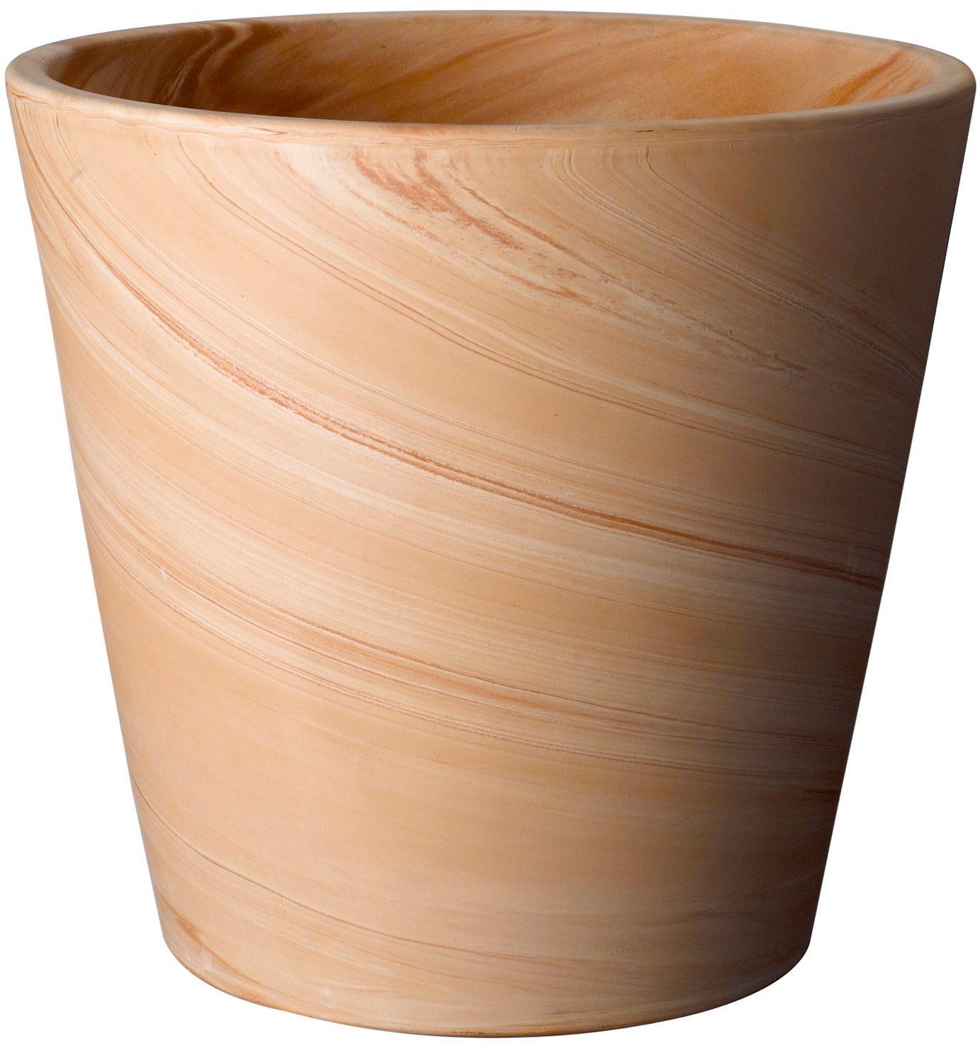 Terracotta Plant Pot H 220mm Dia 240mm Departments