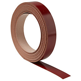 Cooke & Lewis High Gloss Red Laminate Edging