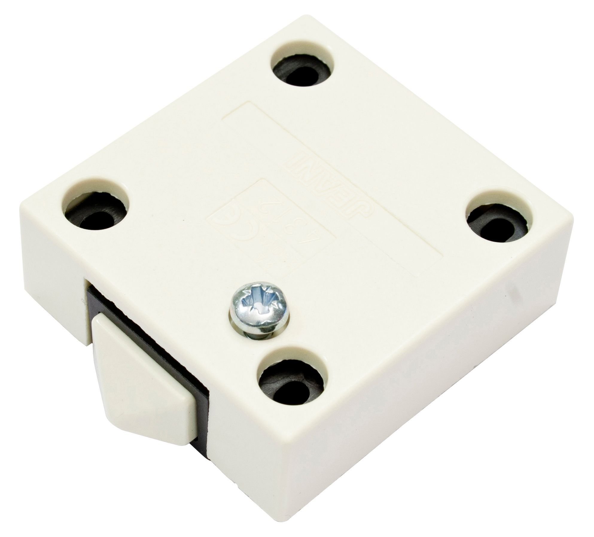 sc 1 st  B\u0026Q & B\u0026Q Cream Door Operated Cabinet Switch | Departments | DIY at B\u0026Q