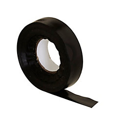 B&Q Black Insulation tape (L)30m (W)19mm