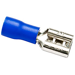 B&Q Blue Crimp Connector, Pack of 10