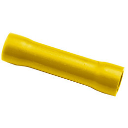 B&Q Yellow Crimp Connector, Pack of 10