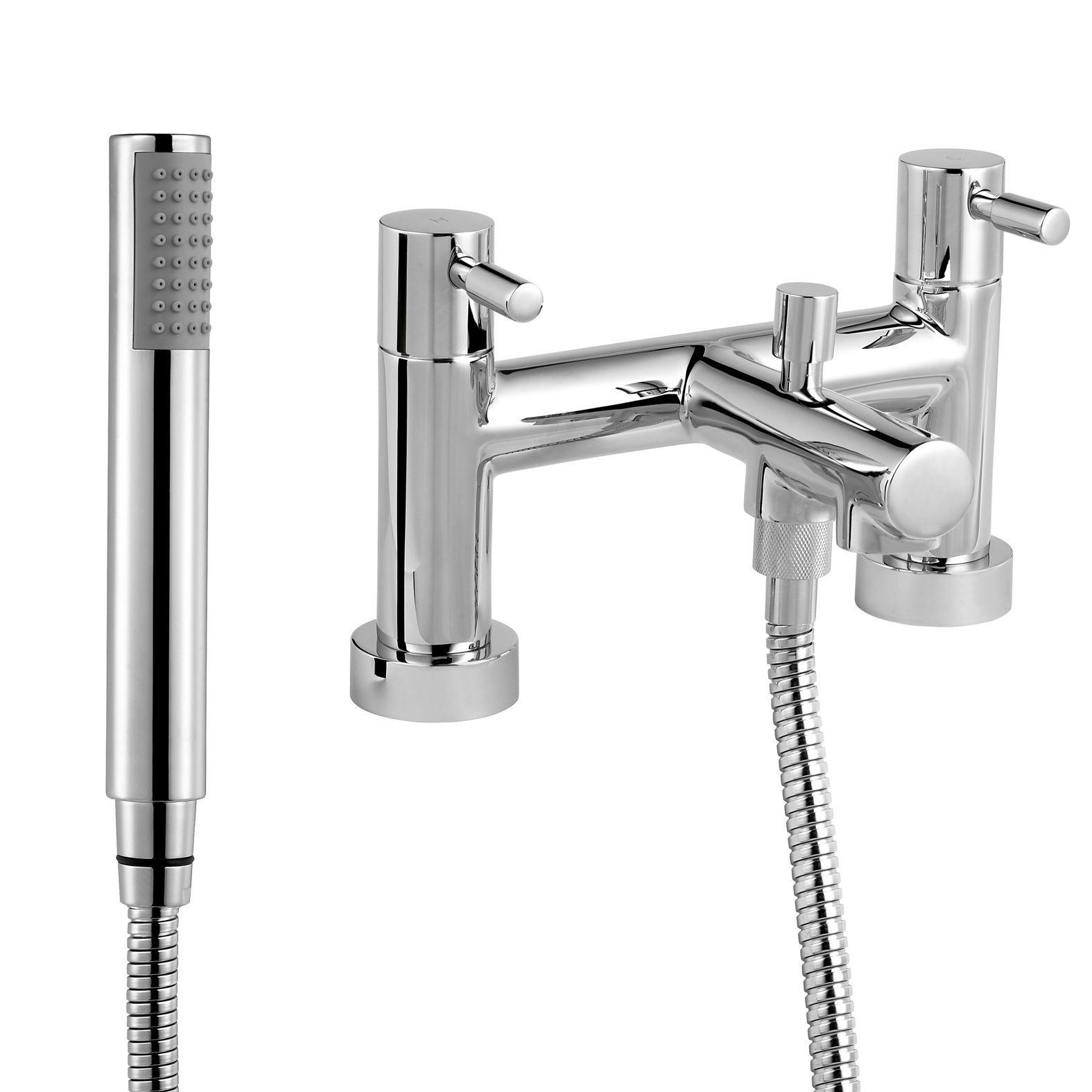 B&Q Cirque Chrome finish Bath shower mixer tap | Departments | DIY ...