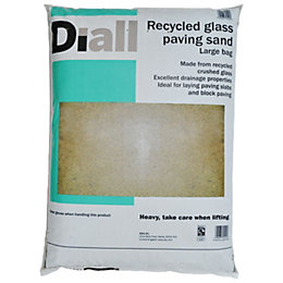 Diall Recycled glass paving sand 22.5kg Large bag