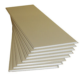 Geom White Cladding (L)1200 mm (W)250 mm (T)10