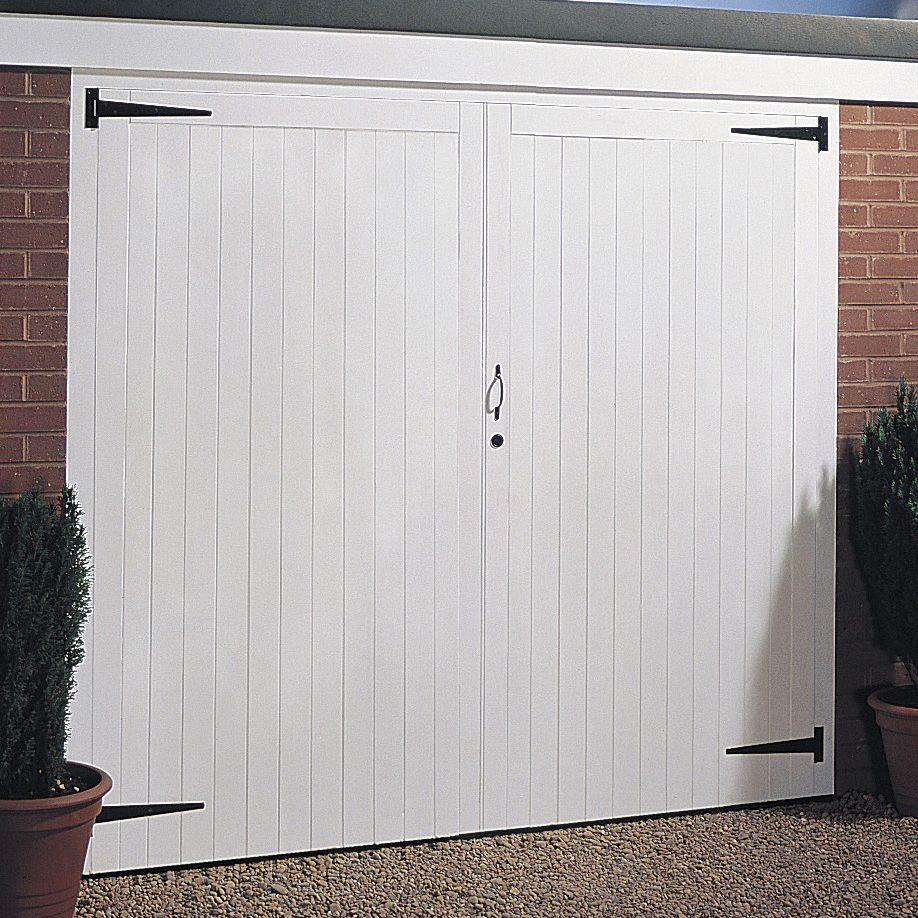 Side Hung Garage Door Pair, (H)2134mm (W)2134mm