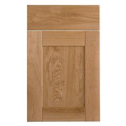 Cooke & Lewis Chesterton Solid Oak Drawerline Door