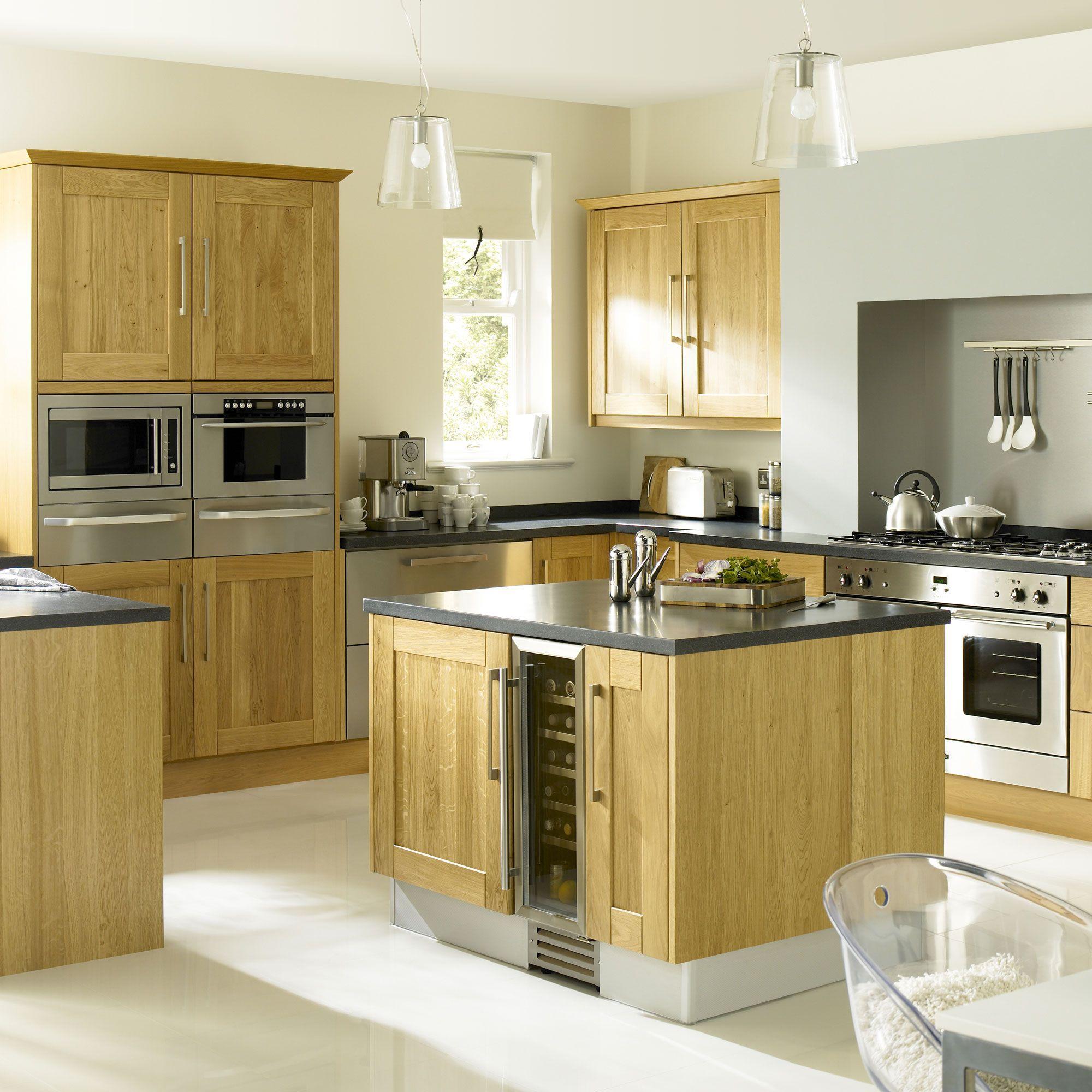 IT Kitchens Solid Oak Classic OP4 Door frame