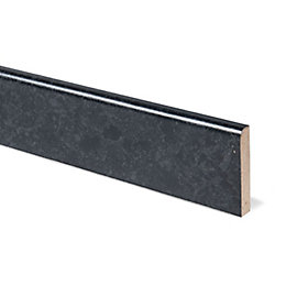 12mm Midnight granite Black Laminate Upstand