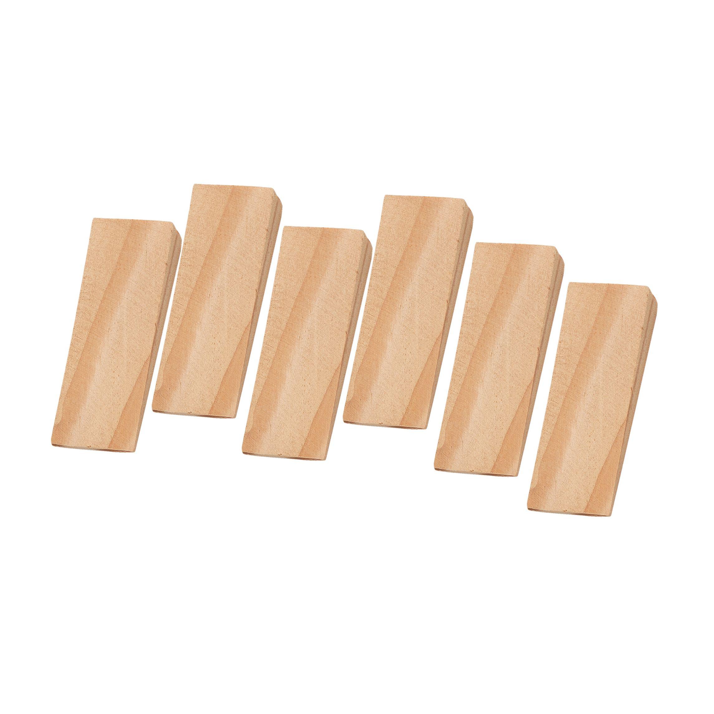B&Q Wood Door Wedge, Pack of 6   Departments   DIY at B&Q