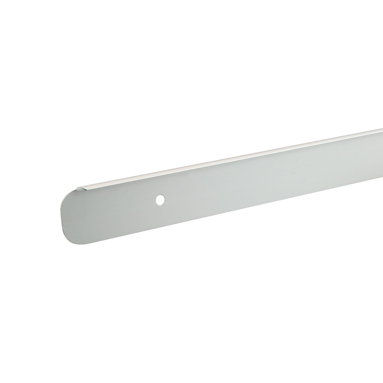 Unika Silver Aluminium Kitchen worktop end cap | Departments | DIY ...
