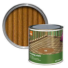 Colours Medium oak Matt Decking stain 2.5L