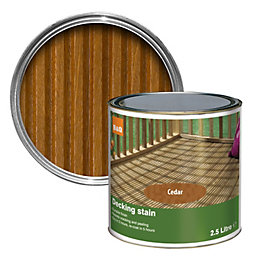 Colours Cedar Matt Decking stain 2.5L