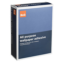 B&Q All Purpose Wallpaper Adhesive