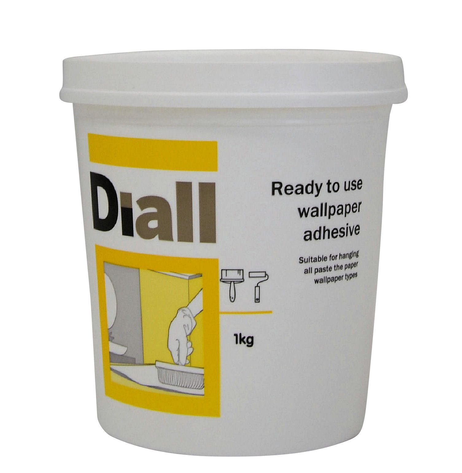 BQ All Purpose Ready To Use Wallpaper Adhesive 1kg