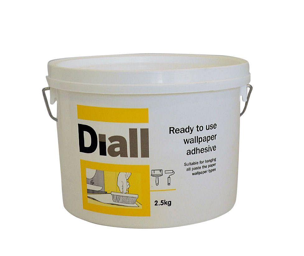 Bu0026Q All Purpose Ready To Use Wallpaper Adhesive 2.5kg | Departments | DIY  At Bu0026Q.