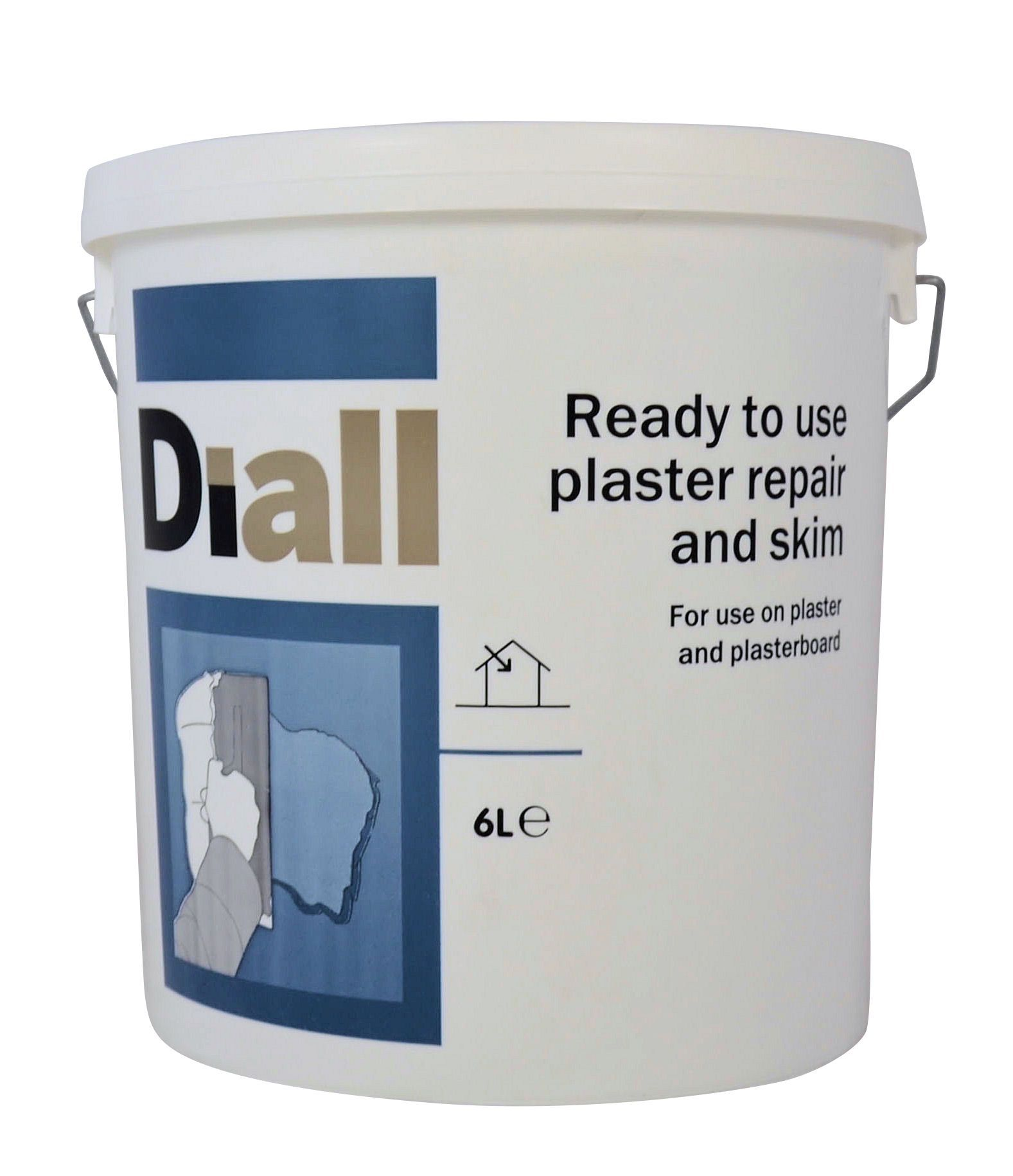 B&Q Internal Plaster repair 6L | Departments | DIY at B&Q