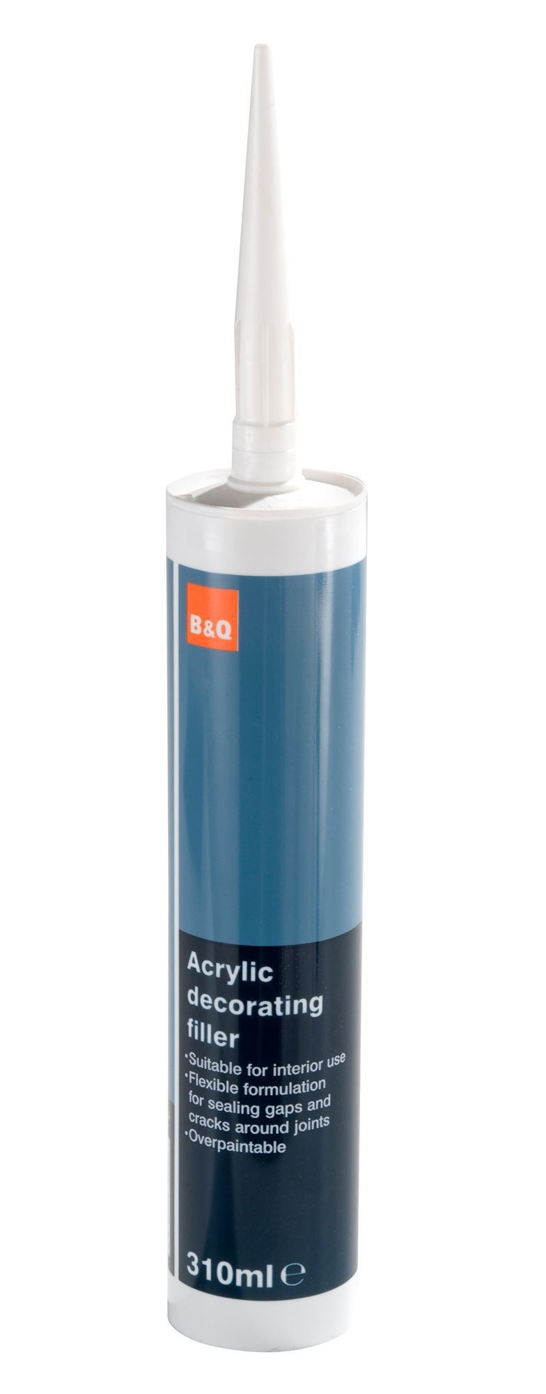 B&Q Acrylic decorating filler 310ml | Departments | DIY at B&Q
