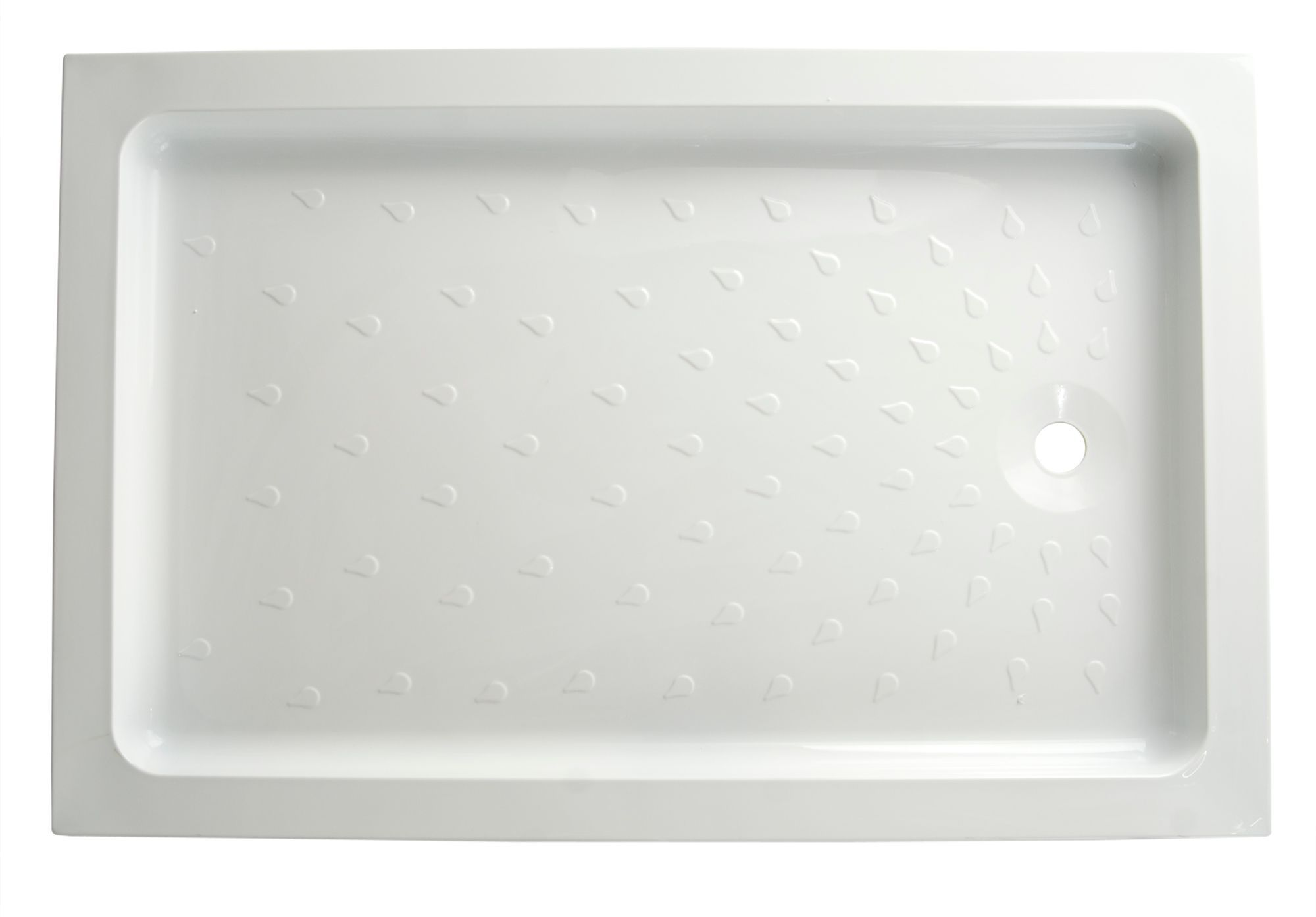 B Amp Q High Wall Rectangular Shower Tray L 1200mm W 800mm