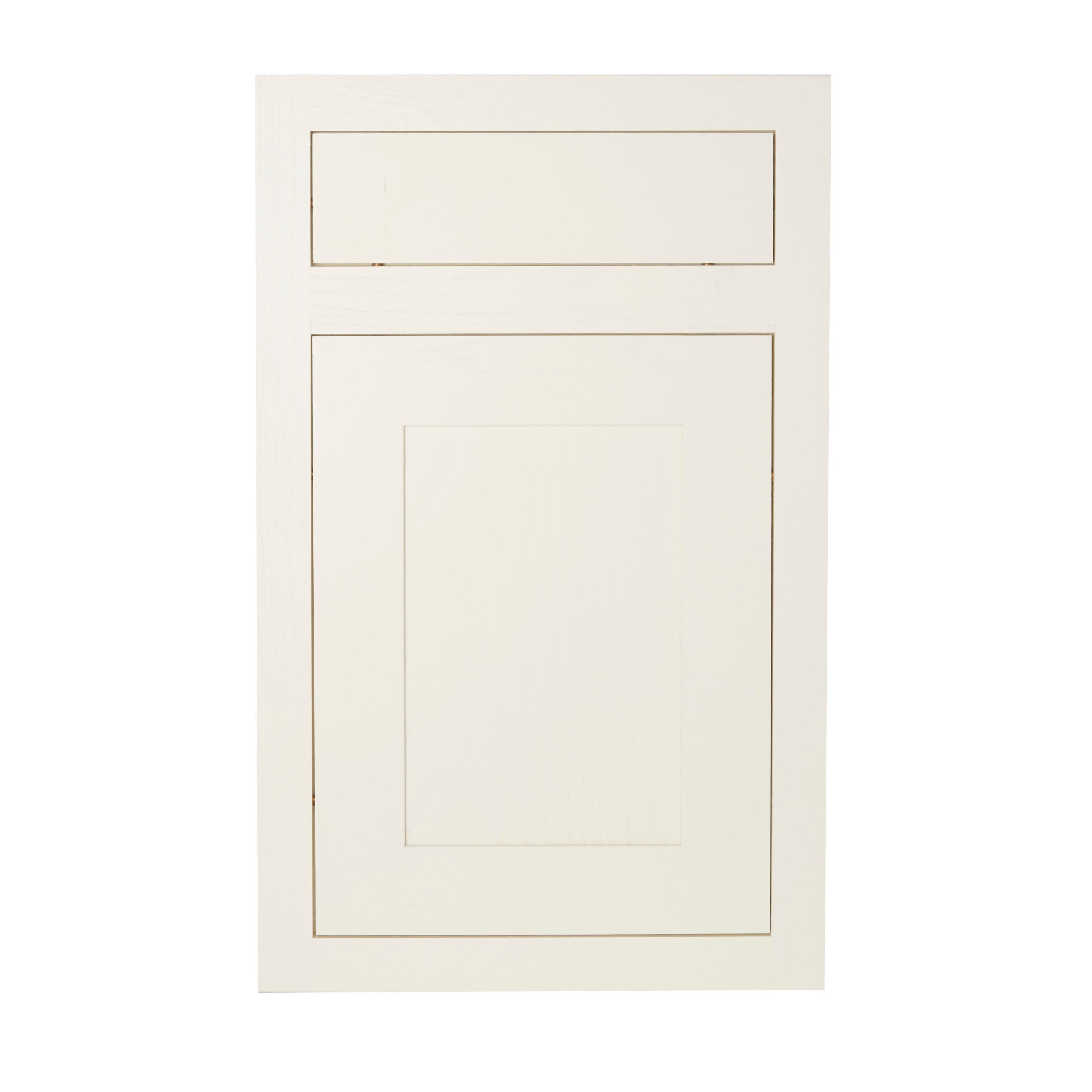 B Q Kitchen Cabinet Doors: Cooke & Lewis Carisbrooke Ivory Fixed Frame Cabinet Door