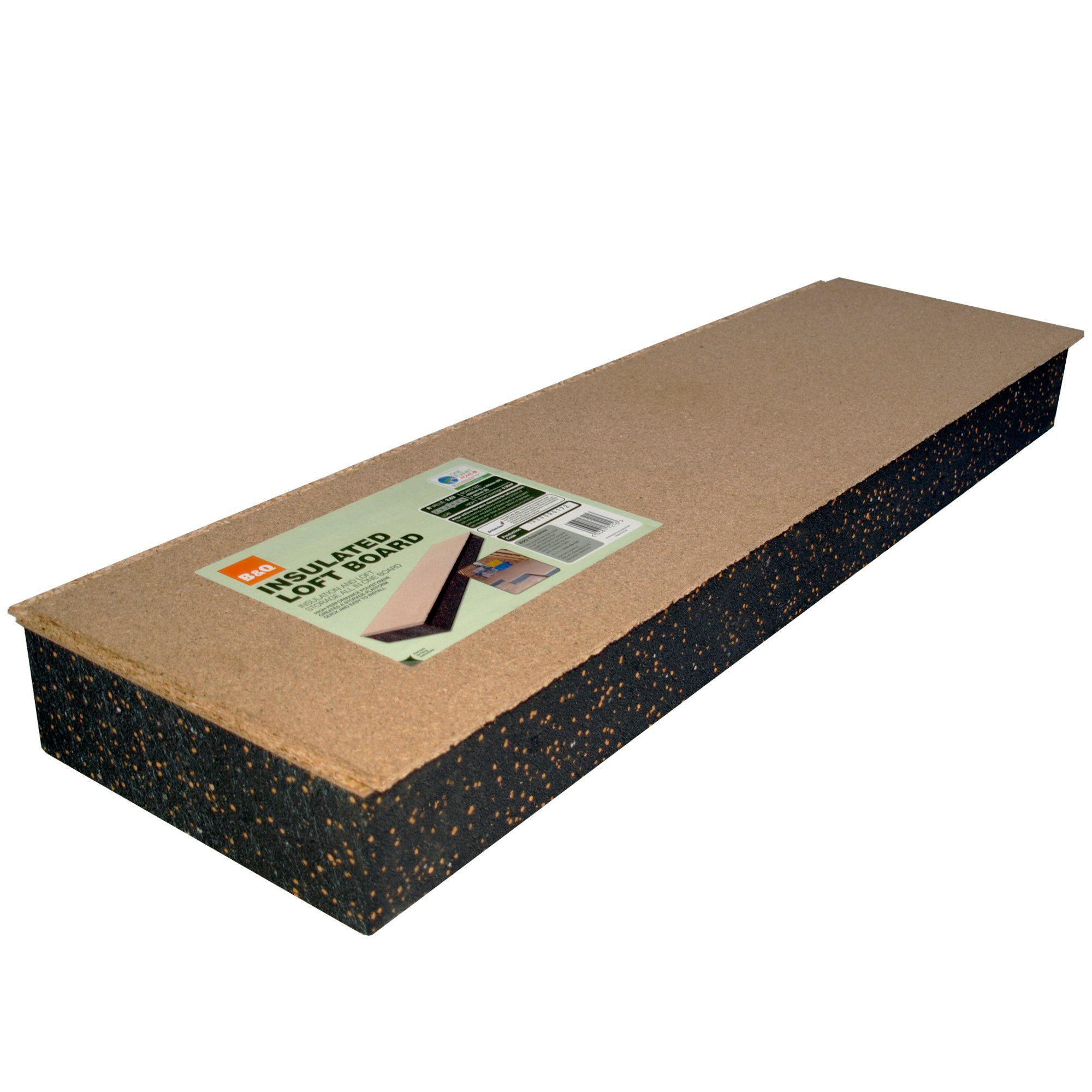 B Amp Q Insulation Board 1220mm 320mm 123mm Departments
