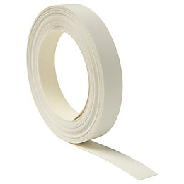 Cooke & Lewis Carisbrooke Ivory Edging Tape (L)1M