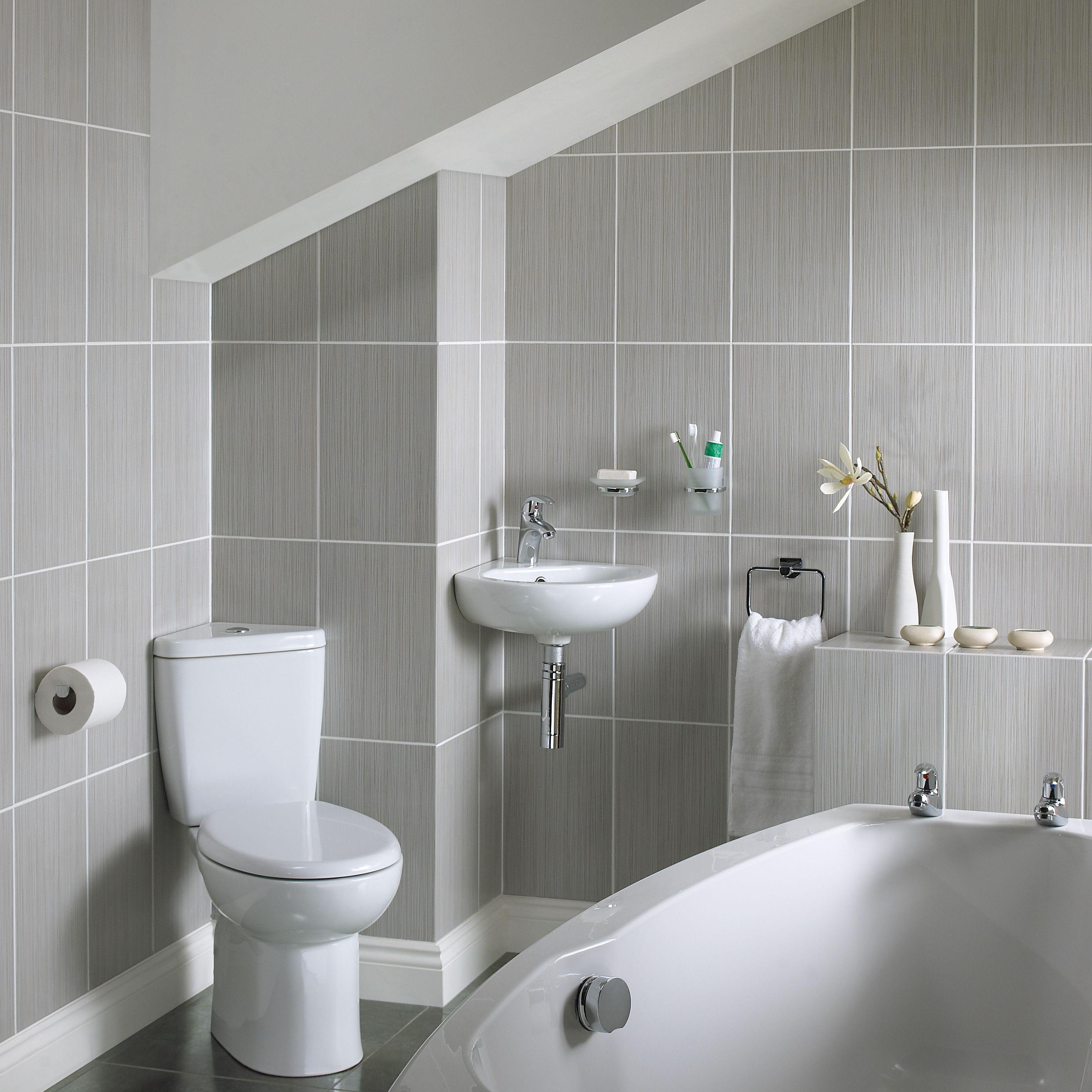 Compact family bathroom Small bathroom ideas