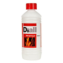 Diall BBQ Lighting Gel 0.5L