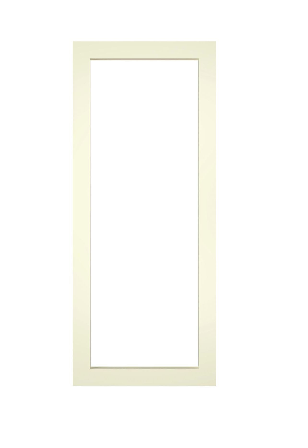 It Kitchens Ivory Open Framed Wall Cabinet W 300mm