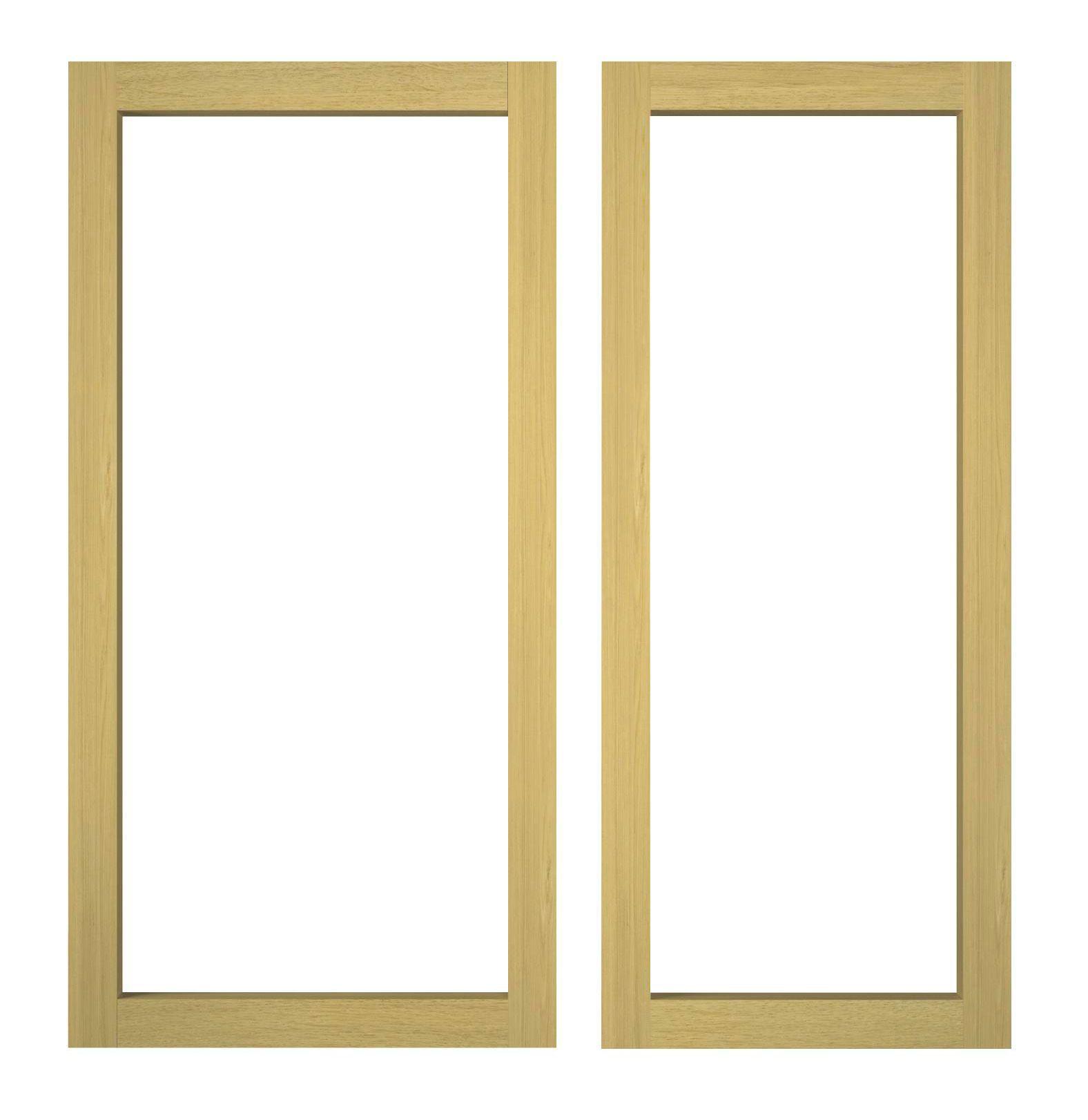 IT Kitchens Oak Effect Open Wall Cabinet (W)300mm