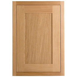 Cooke & Lewis Carisbrooke Oak Framed Fixed Frame