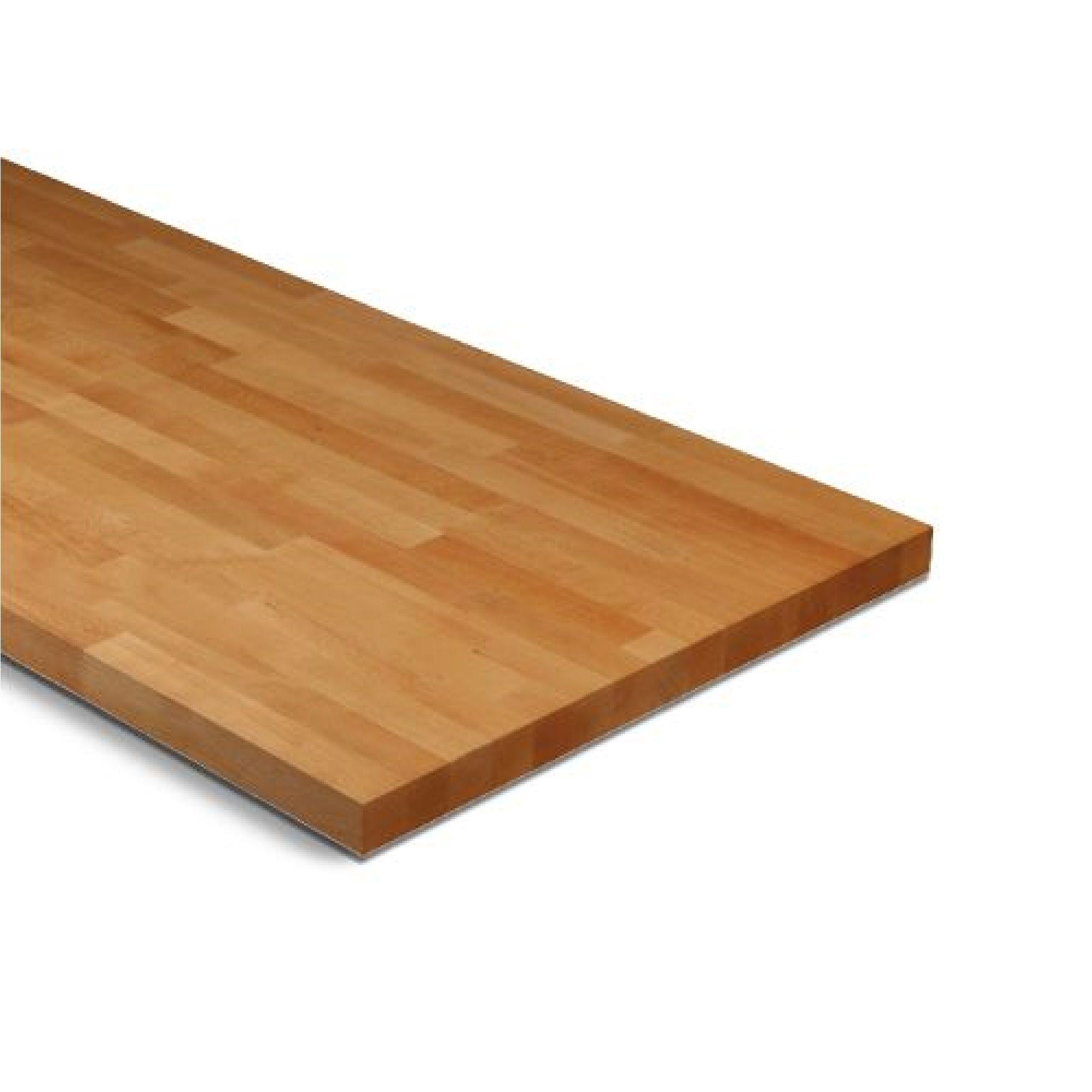 27mm solid wood beech square edge worktop l 3000mm d. Black Bedroom Furniture Sets. Home Design Ideas
