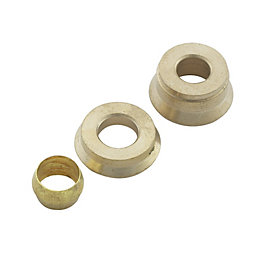 Plumbsure Brass Re-Ducting Set