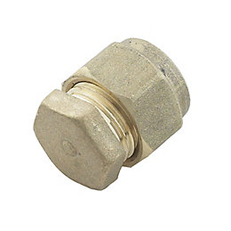 Plumbsure Compression Stop End (Dia)10mm
